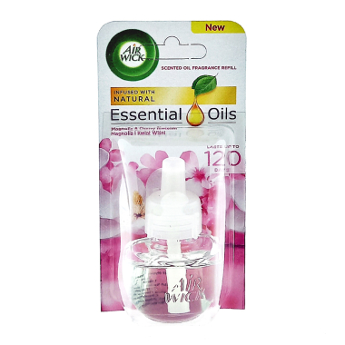 Air Wick plug-in refill Magnolia & Cherry Blossom, 19 ml
