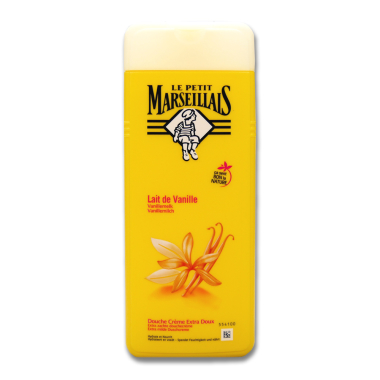 Le Petit Marseillais cream shower Vanilla Milk, 400 ml x 12