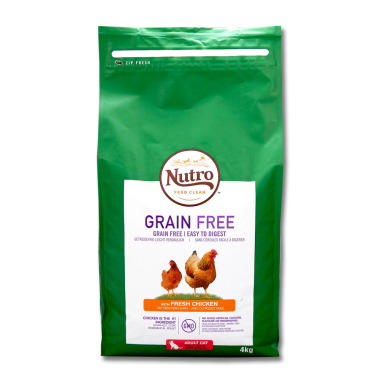 Nutro Cat Grain-Free Adult Chicken, 4 kg