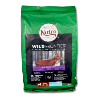 Nutro Dry Wild Frontier Venison & Beef for Adult Dog, 10 kg