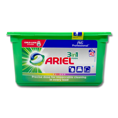Ariel Professional 3in1 Pods Colour & Style, 42 washes