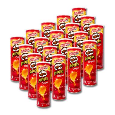 Pringles Chips Original, 165 g x 19