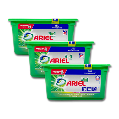 Ariel Professional 3in1 Pods Colour & Style, 42 loads...