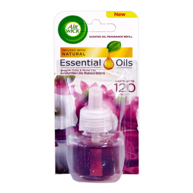 Air Wick plug-in refill Smooth Satin & Moon Lily, 19 ml