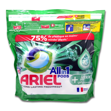 Ariel All in 1 Pods Touch of Lenor, 40 washes