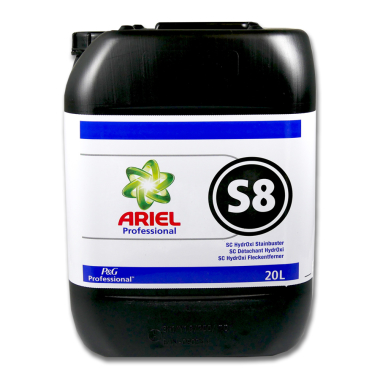 Ariel Professional S8 SC HydrOxi stain remover, 20 liters
