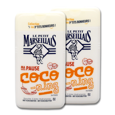 Le Petit Marseillaise shower cream with coconut butter, 2...