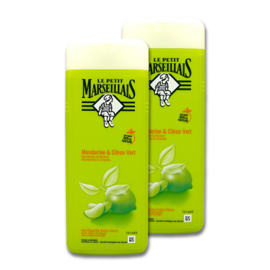Le Petit Marseillais shower gel Tangerine & Lime, 2 x...