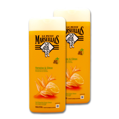 Le Petit Marseillais shower gel Verbena & Lemon, 2 x...