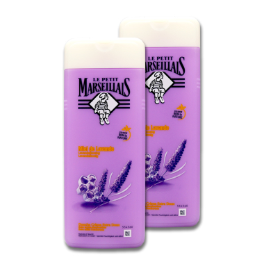 Le Petit Marseillais shower cream with lavender honey, 2...