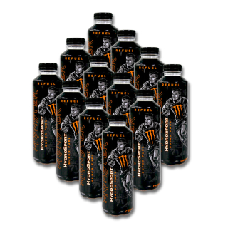 Monster HydroSport Super Fuel Charge refreshing drink, 650 ml x 12