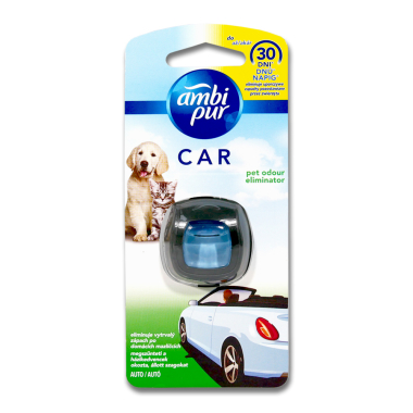 Ambi Pur Car air freshener Pet Odour Eliminator, 2 ml