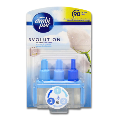 Ambi Pur 3volution plug-in refill Cotton Fresh, 21 ml