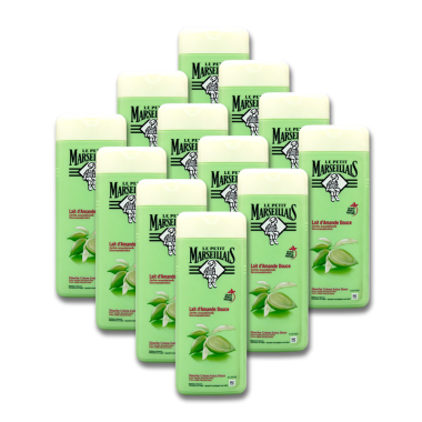 Le Petit Marseillais cream shower soft almond, 400 ml x 12