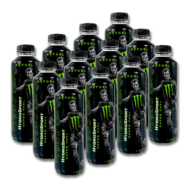 Monster HydroSport Energy Drink Super Fuel Striker, 650...
