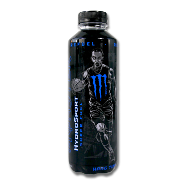 Monster HydroSport Energy Drink Super Fuel Hang Time, 650 ml x 12