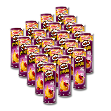 Pringles Stack Chips Texas BBQ Sauce, 165 g