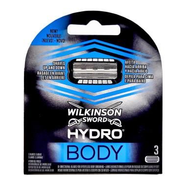 Wilkinson Hydro Body razor blades, pack of 3