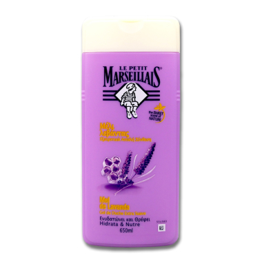 Le Petit Marseillais shower cream Lanvender Honey, 650 ml