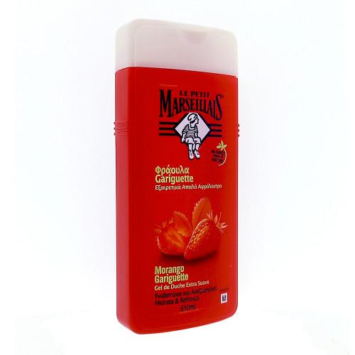 Le Petit Marseillais shower cream Strawberry, 650 ml