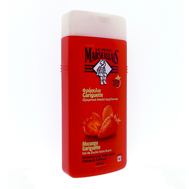 Le Petit Marseillais shower cream Strawberry, 650 ml