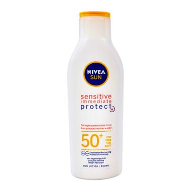 Nivea SUN Lotion Immediate Protect SPF 50+, 200 ml