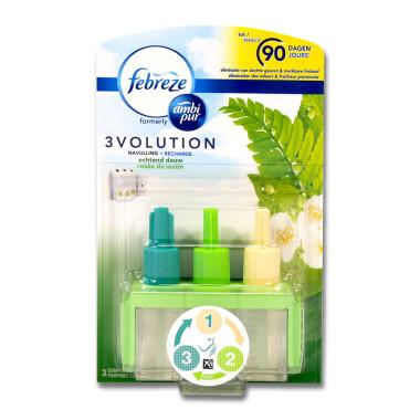 Febreze 3volution plug refill Morning Dew, 20 ml x 6