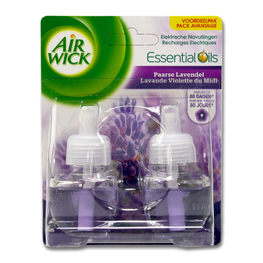 Air Wick plug-in refill Lavender, 2x 19 ml