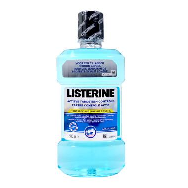 Listerine Mouthwash Active Tartar Control Arctic Mint,...