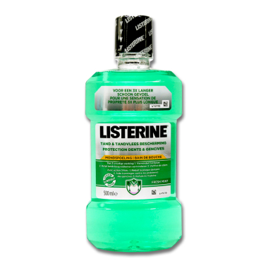 Listerine Moutwash Tooth & Gum Protection, 500 ml