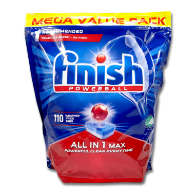 Finish Powerball All-in-1 Spülmaschinentabs, 110er Pack