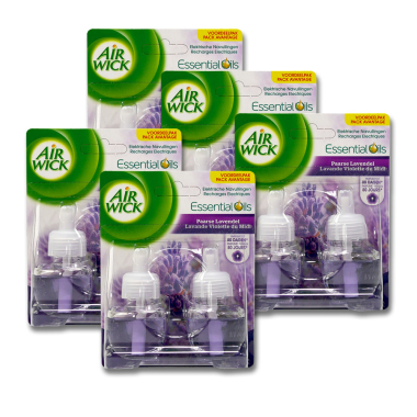 Air Wick plug-in refill Lavender, 2 x 19 ml x 5