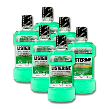Listerine Moutwash Tooth & Gum Protection Fresh Mint,...