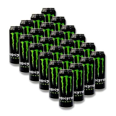 Monster Green Energy Drink, 500 ml x 24