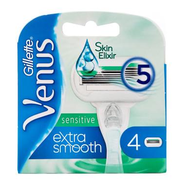 Gillette Venus Extra Smooth Sensitive razor blades, pack...