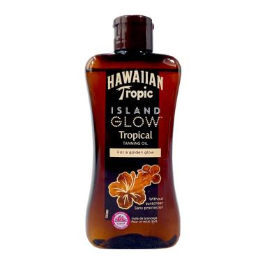 Hawaiian Tropic Island Glow Tropical Tanning Oil, 200 ml