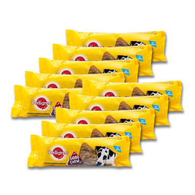 Pedigree Good Chew with Beef for Large Dogs, 145 g x 10