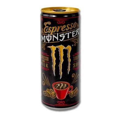 Monster Espresso and Milk Triple Shot, 250 ml