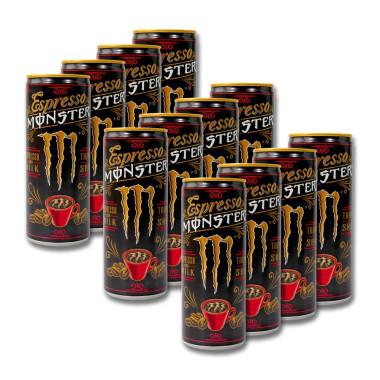 Monster Espresso and Milk Triple Shot, 250 ml x 12