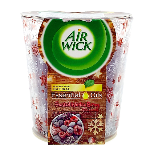 Air Wick Scented Candle Frosted Winter Berry, 105 g