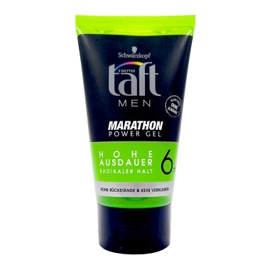 Schwarzkopf taft Styling Gel Marathon strong hold 6, 150 ml