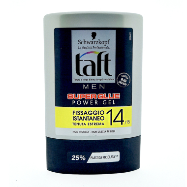 Schwarzkopf taft Styling Gel Super Glue hold 14, 300 ml