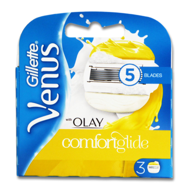 Gillette Venus & Olaz razor blades, pack of 3