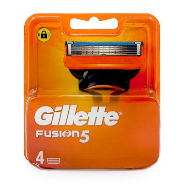 Gillette Fusion razor blades, pack of 4