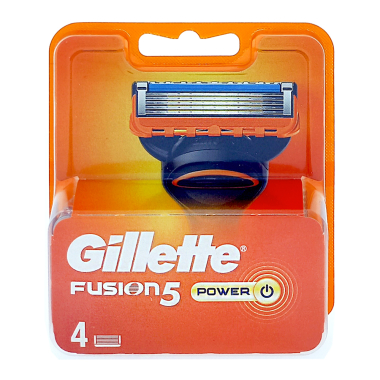 Gillette Fusion5 Power Rasierklingen, 4er Pack