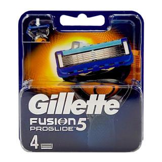Gillette Fusion ProGlide razor blades, pack of 4