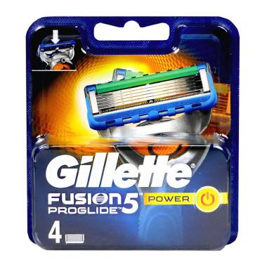 Gillette Fusion5 ProGlide Power razor blades, pack of 4