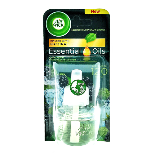 Air Wick fragrance oil bottle Life Scents Forest Waters, 19 ml