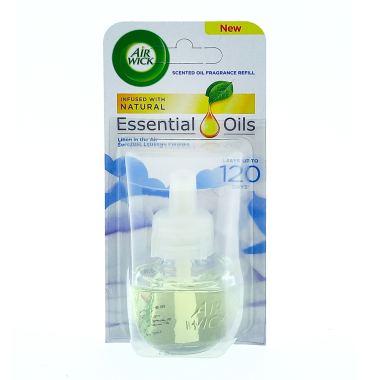 Air Wick Duftölflakon Essential Oils Linen in the Air, 19 ml
