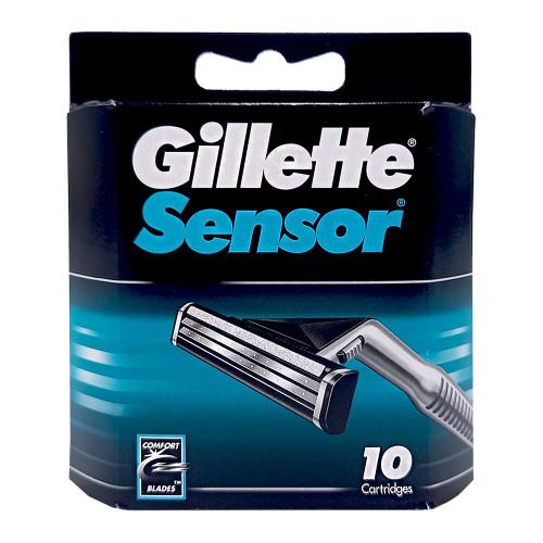 Gillette Sensor razor blades, pack of 10
